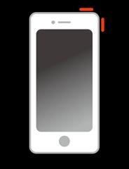 iPhone(アイフォン)スリープボタン交換修理(電源ボタン)